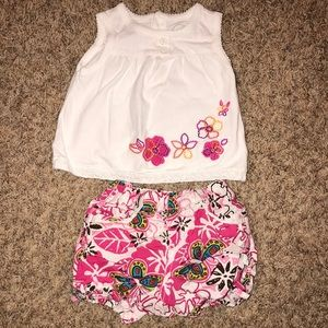 The Children's Place Flower Summer Outfit